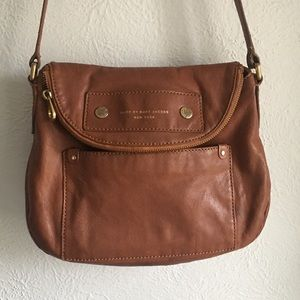 Marc by Marc Jacobs tan leather crossbody